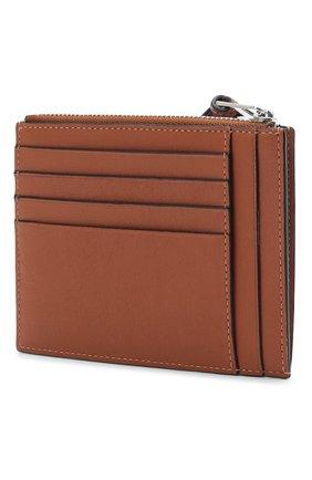 Женский кожаный футляр для кредитных карт loewe x paula's ibiza LOEWE коричневого цвета, арт. C643037X03   Фото 2