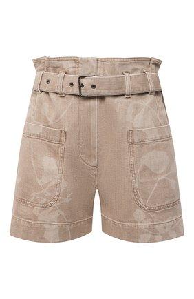 Женские джинсовые шорты BRUNELLO CUCINELLI бежевого цвета, арт. MH160P5651 | Фото 1