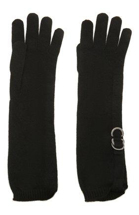 Женские кашемировые перчатки BRUNELLO CUCINELLI черного цвета, арт. M12170799P | Фото 2