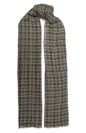 Женский кашемировый шарф BRUNELLO CUCINELLI коричневого цвета, арт. MSCDAGW53P | Фото 1