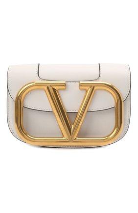 Женская сумка vlogo VALENTINO белого цвета, арт. VW0B0G45/ZXL | Фото 1