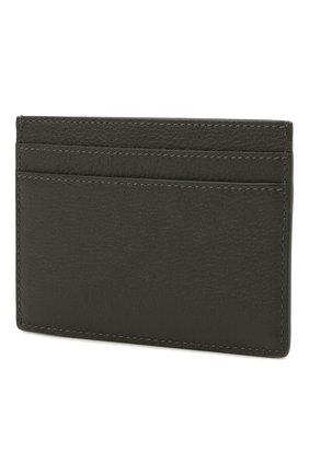 Женский кожаный футляр для кредитных карт SAINT LAURENT темно-серого цвета, арт. 635262/15B0W | Фото 2