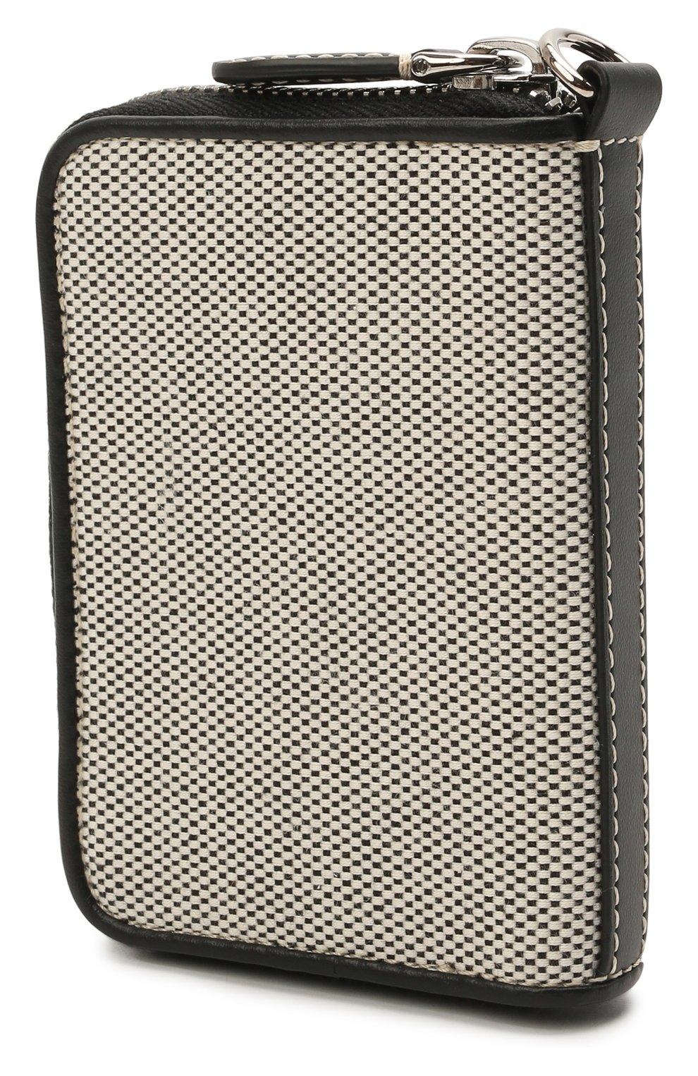 Мужской текстильное портмоне BURBERRY серого цвета, арт. 8039254 | Фото 2