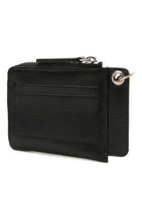 Мужской кожаное портмоне DSQUARED2 черного цвета, арт. WAM0022 01501044 | Фото 2