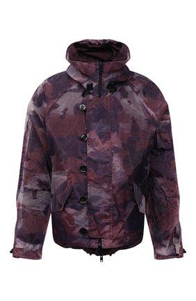 Мужская куртка DOLCE & GABBANA бордового цвета, арт. G9UI6Z/G7YEZ | Фото 1 (Кросс-КТ: Куртка, Ветровка; Материал внешний: Синтетический материал; Длина (верхняя одежда): Короткие; Материал подклада: Вискоза; Рукава: Длинные; Стили: Милитари)