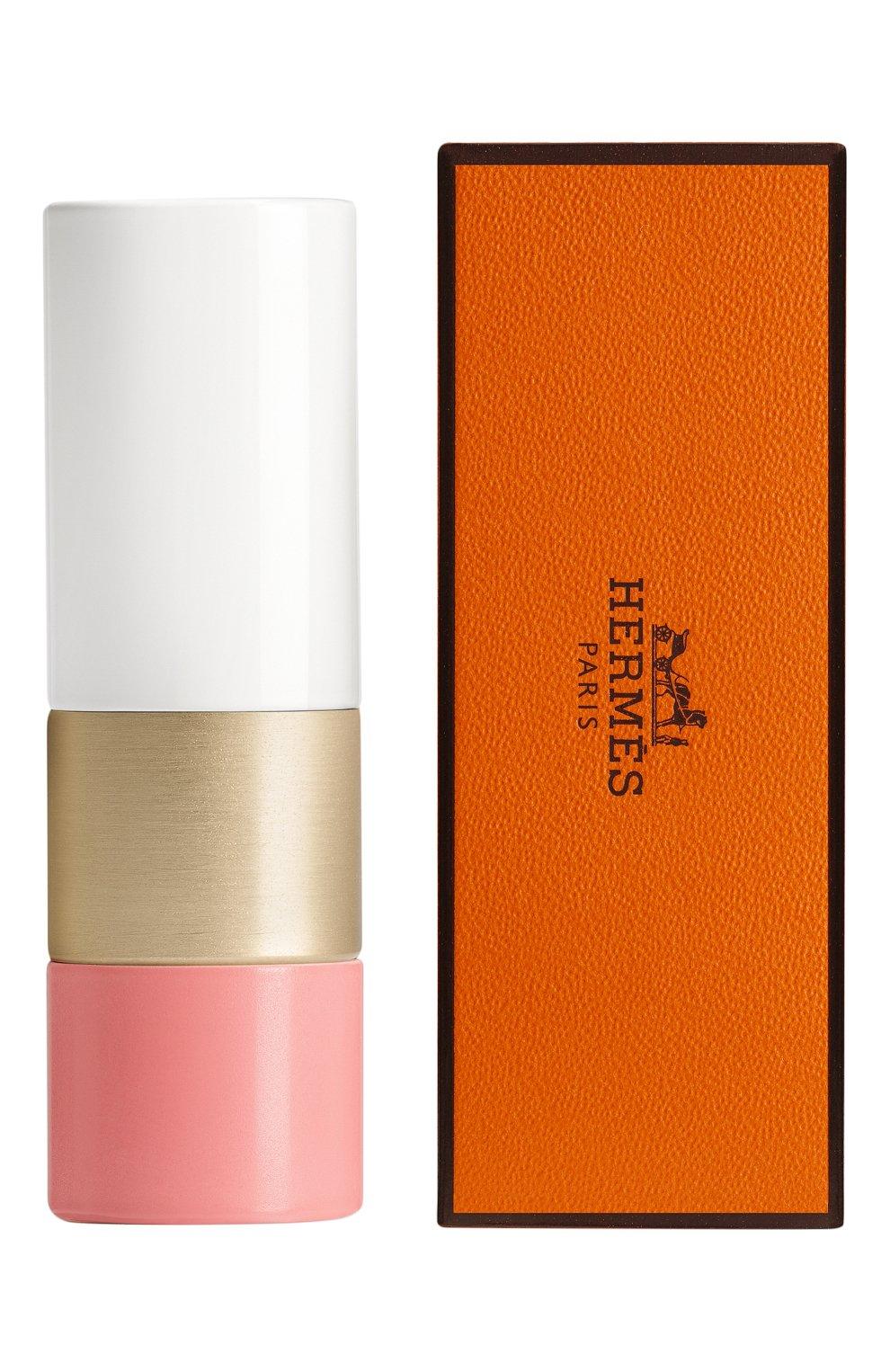 Натуральный бальзам для ухода за губами rose à lèvres, rose d'été HERMÈS бесцветного цвета, арт. 60284BV030H | Фото 2