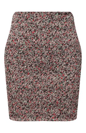 Женская юбка BOTTEGA VENETA разноцветного цвета, арт. 657784/V0Q90 | Фото 1 (Женское Кросс-КТ: Юбка-одежда; Материал внешний: Хлопок; Длина Ж (юбки, платья, шорты): Мини; Стили: Гламурный)