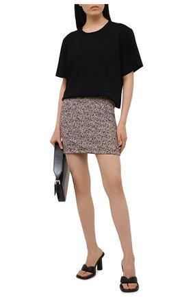 Женская юбка BOTTEGA VENETA разноцветного цвета, арт. 657784/V0Q90 | Фото 2