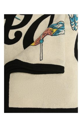 Женское хлопковое полотенце loewe x paula's ibiza LOEWE кремвого цвета, арт. K000229X04 | Фото 1
