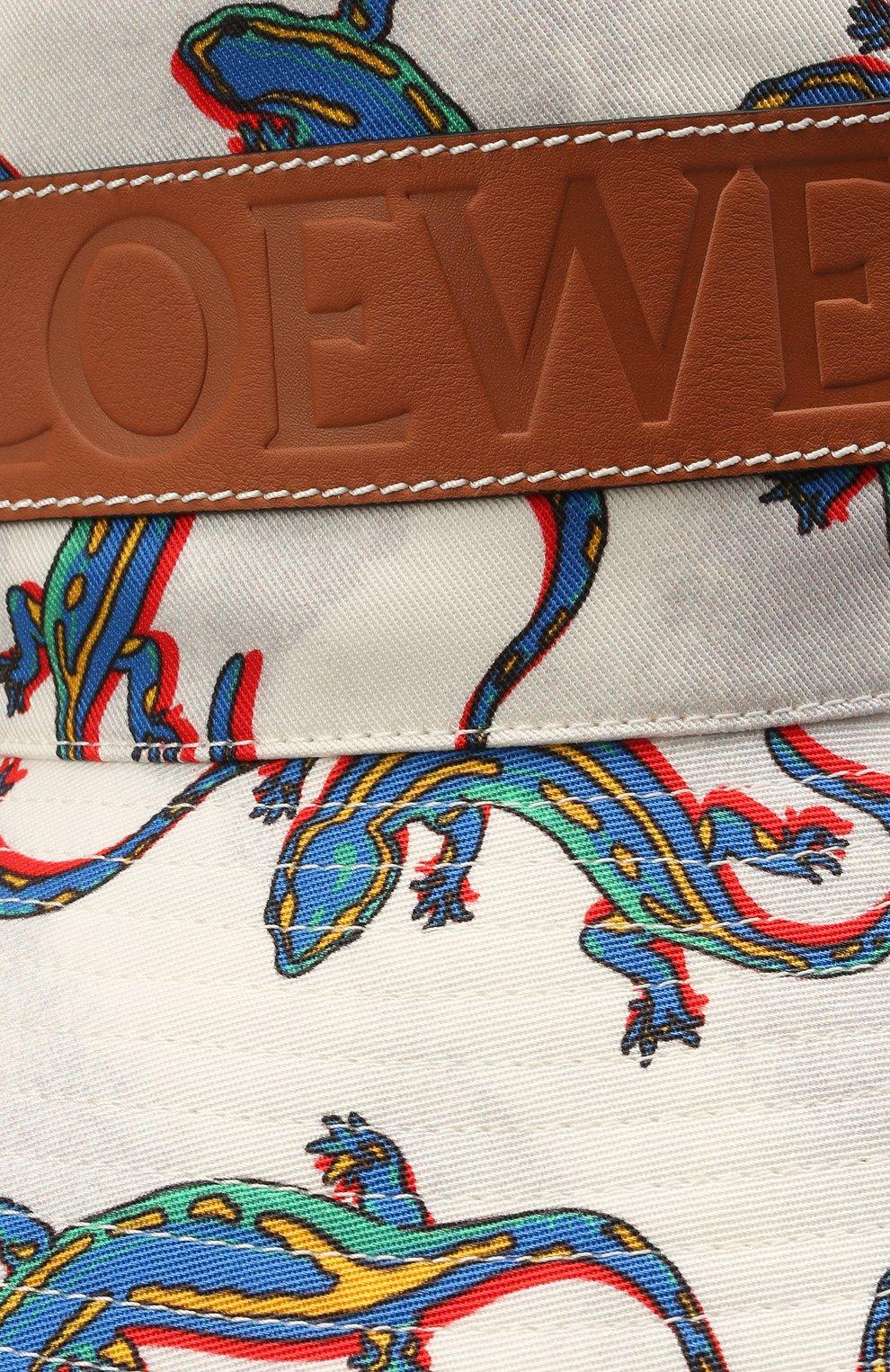 Женская хлопковая панама loewe x paula's ibiza LOEWE разноцветного цвета, арт. K820HF1X19 | Фото 3
