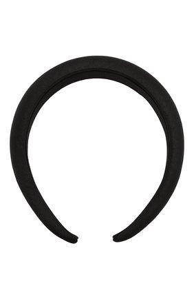 Женский ободок для волос JENNIFER BEHR черного цвета, арт. 15BA3   Фото 1