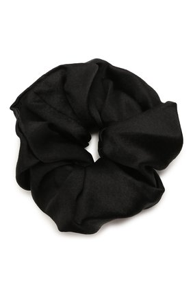 Женская резинка для волос JENNIFER BEHR черного цвета, арт. 15CD3 | Фото 1 (Материал: Текстиль)