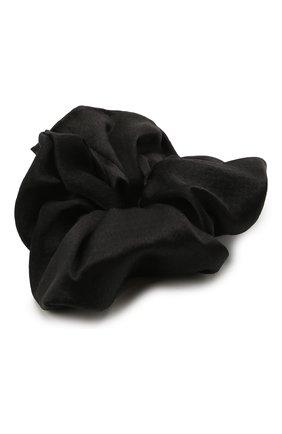 Женская резинка для волос JENNIFER BEHR черного цвета, арт. 15CD3 | Фото 2 (Материал: Текстиль)