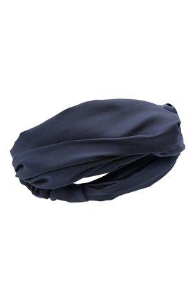 Женская повязка на голову JENNIFER BEHR темно-синего цвета, арт. 28AP9 | Фото 1