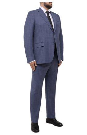 Мужской шерстяной костюм CANALI синего цвета, арт. 11280/10/BF00070/60-64   Фото 1