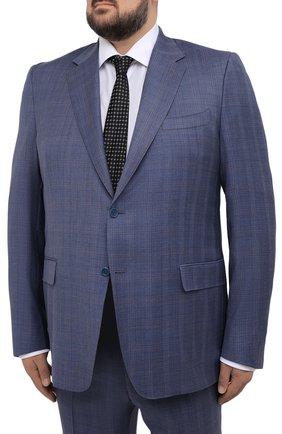 Мужской шерстяной костюм CANALI синего цвета, арт. 11280/10/BF00070/60-64   Фото 2