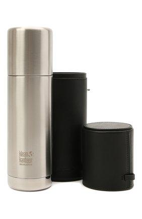 Женского комплект из термоса и чехла JIL SANDER черного цвета, арт. JPPS840002-WSB00079 | Фото 1