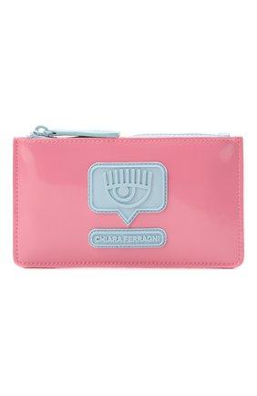 Детская сумка CHIARA FERRAGNI розового цвета, арт. 21PE-CFPT004 | Фото 1