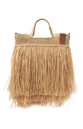 Женская сумка slit loewe x paula's ibiza LOEWE бежевого цвета, арт. A685V81X03 | Фото 1