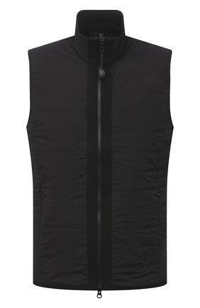 Мужской комбинированный жилет GRAN SASSO черного цвета, арт. 57142/31504 | Фото 1