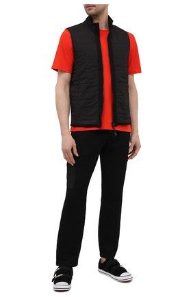 Мужской комбинированный жилет GRAN SASSO черного цвета, арт. 57142/31504 | Фото 2