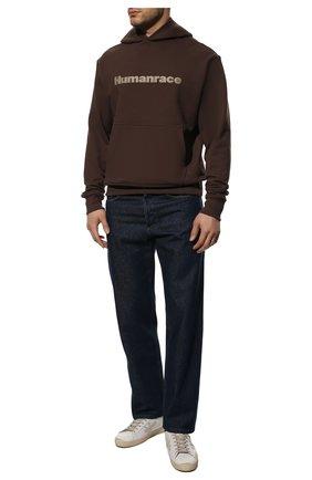 Мужские кожаные кеды steven PREMIATA белого цвета, арт. STEVEN/VAR5122 | Фото 2 (Материал внутренний: Натуральная кожа; Подошва: Плоская)