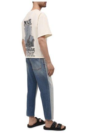 Мужские джинсы loewe x paula's ibiza LOEWE голубого цвета, арт. H616Y11X01 | Фото 2