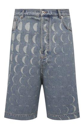 Мужские джинсовые шорты loewe x paula's ibiza LOEWE синего цвета, арт. H616Y04X09 | Фото 1