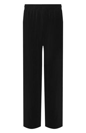 Мужские хлопковые брюки BALENCIAGA черного цвета, арт. 659094/TKQ12 | Фото 1 (Длина (брюки, джинсы): Стандартные; Случай: Повседневный; Материал внешний: Хлопок; Стили: Спорт-шик)