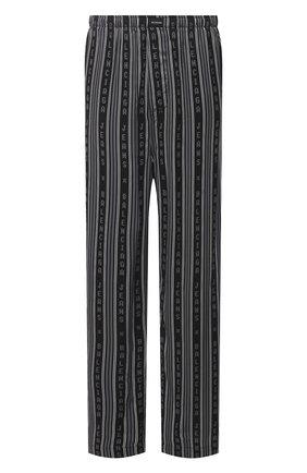 Мужские брюки из вискозы BALENCIAGA черного цвета, арт. 658883/TKL32 | Фото 1 (Длина (брюки, джинсы): Стандартные; Материал внешний: Вискоза; Случай: Повседневный; Стили: Спорт-шик)