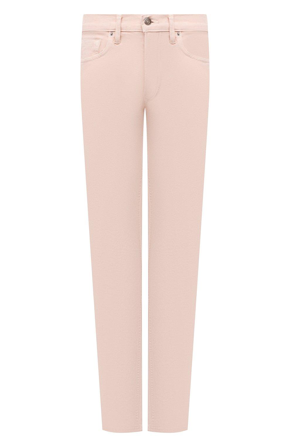 Мужские джинсы TOM FORD светло-розового цвета, арт. BWJ32/TFD002 | Фото 1 (Силуэт М (брюки): Прямые; Кросс-КТ: Деним; Длина (брюки, джинсы): Стандартные; Материал внешний: Хлопок; Стили: Кэжуэл)