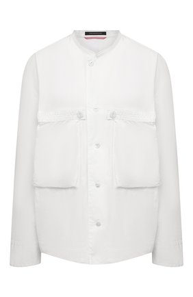 Женская хлопковая рубашка Y`S белого цвета, арт. YD-B43-030 | Фото 1
