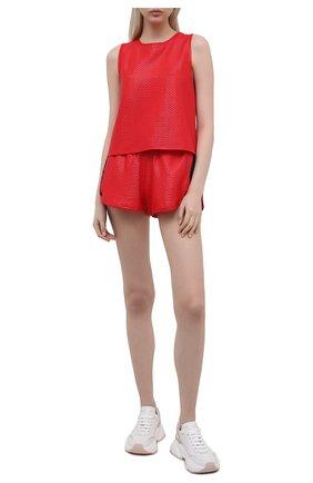 Женские шорты KORAL красного цвета, арт. A2526K09 | Фото 2