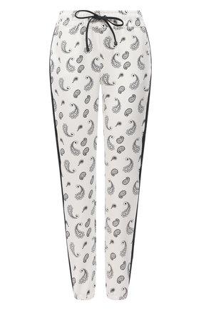 Женские джоггеры из вискозы KORAL черно-белого цвета, арт. A2500B24 | Фото 1