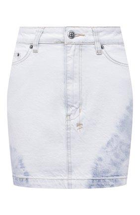 Женская джинсовая юбка KSUBI светло-голубого цвета, арт. 5000005577   Фото 1