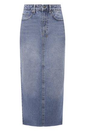 Женская джинсовая юбка KSUBI синего цвета, арт. 5000005568   Фото 1