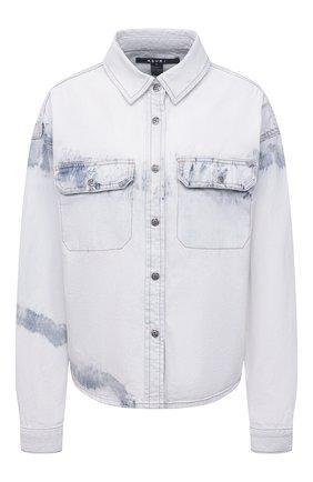 Женская джинсовая рубашка KSUBI светло-голубого цвета, арт. 5000005548 | Фото 1