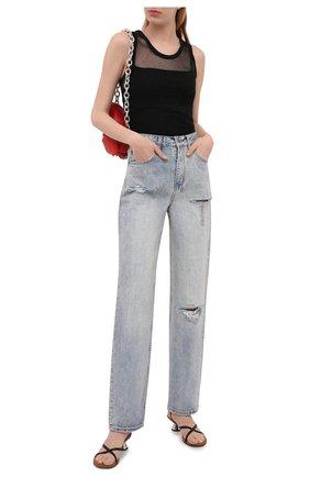 Женские джинсы KSUBI голубого цвета, арт. 5000005097 | Фото 2