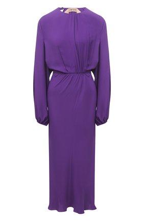 Женское платье N21 фиолетового цвета, арт. 21E N2S0/H081/5111   Фото 1