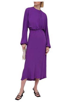 Женское платье N21 фиолетового цвета, арт. 21E N2S0/H081/5111   Фото 2