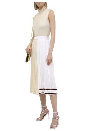 Женская плиссированная юбка N21 разноцветного цвета, арт. 21E N2M0/C044/5080   Фото 2