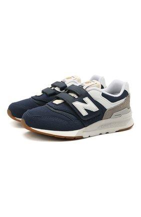 Детские кроссовки 997h NEW BALANCE темно-синего цвета, арт. PZ997HHE/M   Фото 1