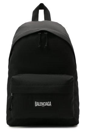 Мужской текстильный рюкзак oversized xxl BALENCIAGA черного цвета, арт. 656061/2JMRX   Фото 1