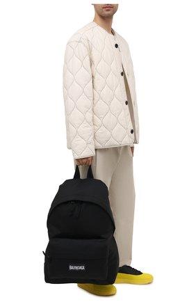 Мужской текстильный рюкзак oversized xxl BALENCIAGA черного цвета, арт. 656061/2JMRX   Фото 2