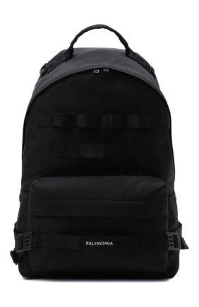 Мужской текстильный рюкзак army BALENCIAGA черного цвета, арт. 644033/2JM4I   Фото 1