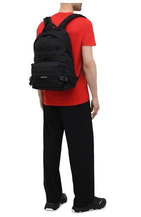 Мужской текстильный рюкзак army BALENCIAGA черного цвета, арт. 644033/2JM4I   Фото 2