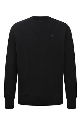 Мужской хлопковый свитшот A-COLD-WALL* черного цвета, арт. ACWMW029 | Фото 1