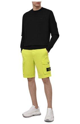 Мужской хлопковый свитшот A-COLD-WALL* черного цвета, арт. ACWMW029 | Фото 2