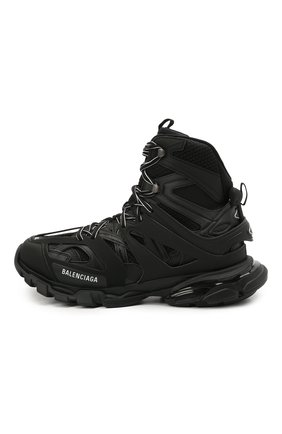 Мужские комбинированные кроссовки track hike BALENCIAGA черного цвета, арт. 654867/W3CP3 | Фото 3 (Материал внешний: Текстиль; Стили: Гранж; Материал внутренний: Текстиль; Подошва: Массивная)