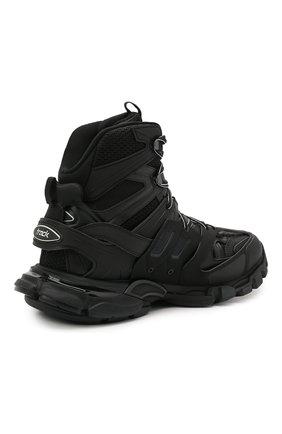 Мужские комбинированные кроссовки track hike BALENCIAGA черного цвета, арт. 654867/W3CP3 | Фото 4 (Материал внешний: Текстиль; Стили: Гранж; Материал внутренний: Текстиль; Подошва: Массивная)